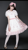 Cherry Blossom Sweet Casual Lolita OP and JSK
