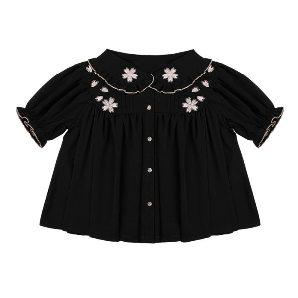 Cherry Blossom Sweet Lolita Blouse