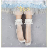 Yidhra -The Sone of Tide- Lace Lolita Socks for Summer