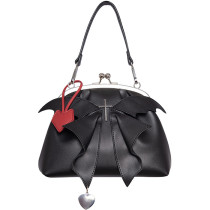 Little Demon Wing Gothic Lolita Crossbody Handbag