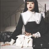 Little Demon Wing Gothic Lolita Crossbody Handbag
