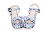 Angelic Imprint - Happy Cat Sweet Platform Lolita Sandals