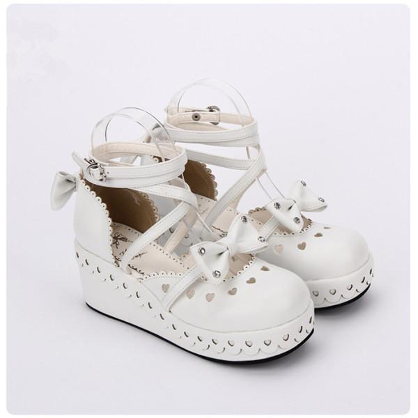 Angelic Imprint - Princess Round Toe Sweet Lolita Platform Shoes