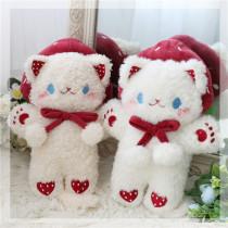 Morning Glory -Stawberry Cat- Sweet Cute Lolita Crossbody Shoulder Bag