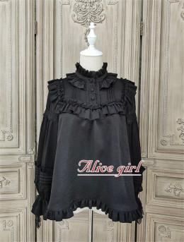 Alice Girl -Teddy Bear- Long Sleeve Lolita Blouse