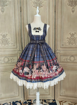 Alice Girl -Teddy Bear- Sweet Lolita JSK