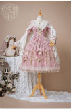 Bakemono -The Daughters of Valhalla- Classic Lolita OP Dress Full Set