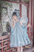 Cloud and Sea Qi Lolita JSK Full Set