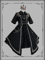 Gloaming -Military Officer- Ouji Lolita OP Dress