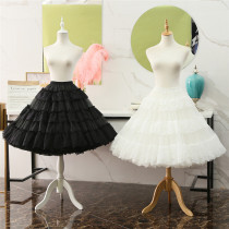 Lace A-line Plus Puffy Level 65cm Long Lolita Petticoat