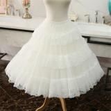 Lace A-line Plus Puffy Level 65cm Long Lolita Petticoat