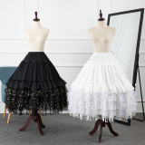 Starry Sky Adjustable Puffy Level and Length Lolita Petticoat