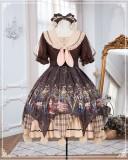Refined Pharmacist Sweet Lolita OP Dress