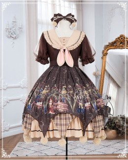 Refined Pharmacist Sweet Lolita OP Dress