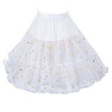 Starry Sky A-line 45cm Long Lolita Petticoat