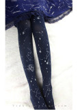 Ruby Rabbit -Fly in the Star Sky- Lolita Tights for Spring and Autumn
