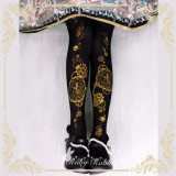 Ruby Rabbit -Astrological Clock- Lolita Tights for Spring and Autumn