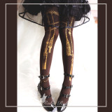 Ruby Rabbit -Pendant Rope- Lolita Tights for Spring and Autumn