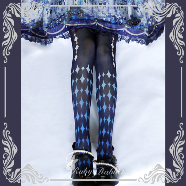 Ruby Rabbit -Alice- Lolita Tights for Spring and Autumn