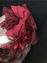 Anatolia Lolita Headband, Wristcuffs and Brooch