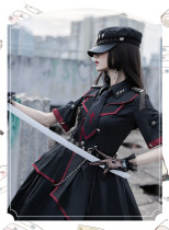 Loser Eat Dust Ouji Military Lolita Hat