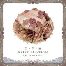 Psalm of Lyra -Daisy Blossom- Lolita Hat, Neckbow and Wristcuffs