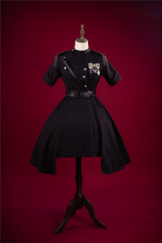 Kiyana -Military Division- Ouji Military Lolita OP Dress