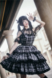 Kiyana -Black Rhapsody- Punk Lolita Hairclip and Wristcuffs