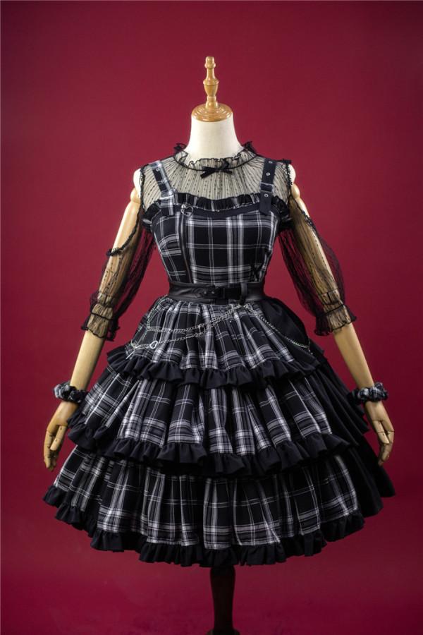 Kiyana -Black Rhapsody- Punk Lolita JSK
