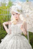 Kiyana -Summer Flower Island- Lolita Shawl and Necklace