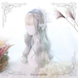 Dalao - Glowworm Pastel Rainbow Long Curly Wavy Lolita Wig