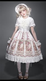 Thumblina Sweet Lolita JSK and OP Dress