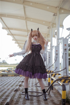 Neverland - Halloween Gothic Lolita JSK and Blouse