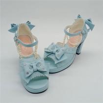 Antaina - Mermaid Sweet Wedge Heel Lolita Sandals
