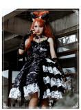 The Vampire Diaries Haloween Gothic Lolita JSK Full Set Version II