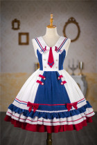 Kiyana -Sailing Holiday- Sailor Lolita JSK