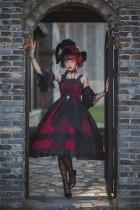 Lingxi -Black Swan- Fantastic Halloween Gothic Lolita JSK