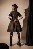 YourHighness -Mega Snake- Ouji Military Lolita OP Dress
