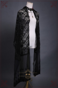 Lingxi -Black Swan- Gothic Lolita Accessories