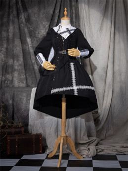 The Physics Halloween Gothic Lolita OP Dress