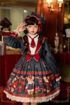 CEL -The Greatest Bear- Sweet High Waist Lolita OP Dress