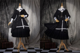 The Physics Gothic Lolita Matched Inner Skirt