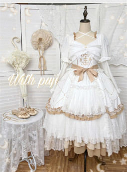 Withpuji -The Promise- Princess Lolita OP Dress