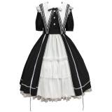 Withpuji -The Dawn- Gothic Lolita OP Dress