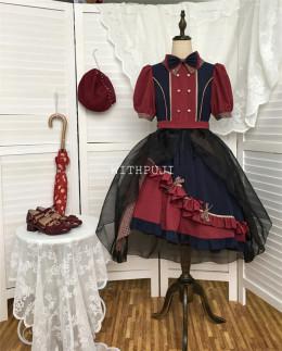 Withpuji -The Star- Punk Lolita OP Dress