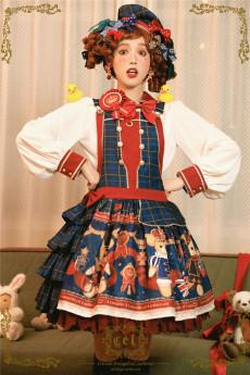 CEL -The Greatest Bear- Sweet Lolita Salopettes