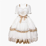 Withpuji -The Promise- Princess Lolita OP Dress