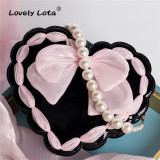 Lovely Lota -My Girl- Sweet Heart Shape Lolita Crossbody Shoulder Handbag