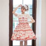 Magic Tea Party -Strawberry Sheep- Sweet Lolita JSK