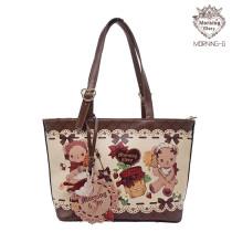 Morning Glory -Bear and Bee- Sweet Lolita Shoulder Bag